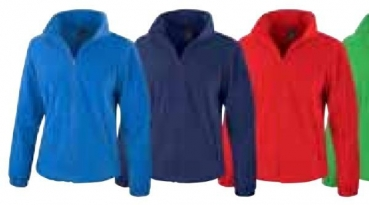 Fleece Jacke Ladies (Royal, M)